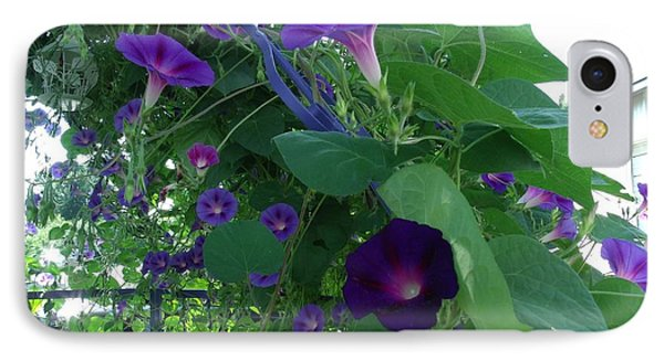 Morning Glories Galore IPhone Case