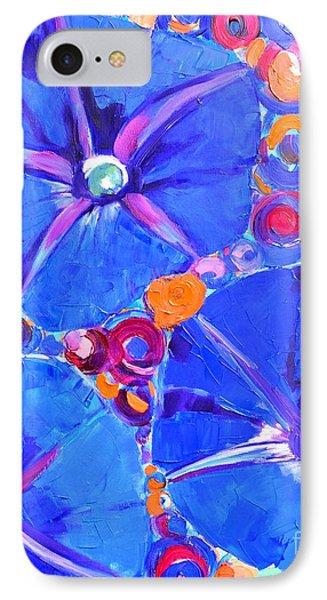 Morning Glory Flowers Phone Case by Ana Maria Edulescu