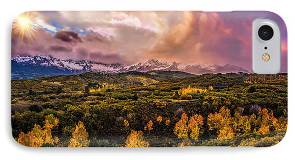 IPhone Case featuring the photograph Morning Glory by Ken Smith