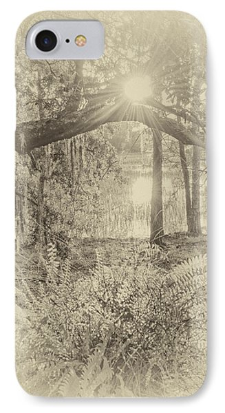 IPhone Case featuring the photograph Morning Glory by Margaret Palmer