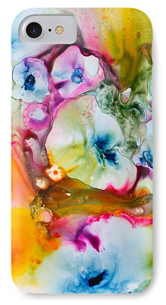Morning Glory IPhone Case by Nancy Jolley