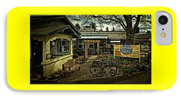 Morning Glory Cafe Ashland IPhone Case by Thom Zehrfeld