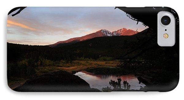 Morning Glow On Mountain Peaks IPhone Case