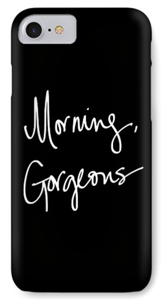 Morning Gorgeous IPhone Case by South Social Studio