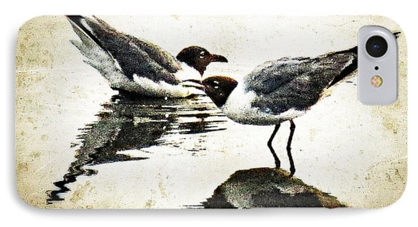 Morning Gulls - Seagull Art By Sharon Cummings IPhone 7 Case
