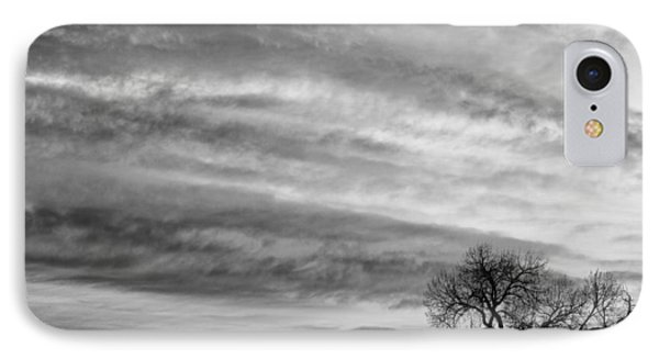 Morning Has Broken Like The First Dawning Landscape Bw Phone Case by James BO  Insogna