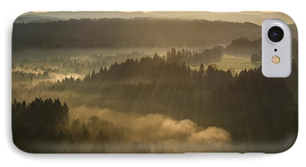 Morning Has Broken IPhone Case by Lori Grimmett