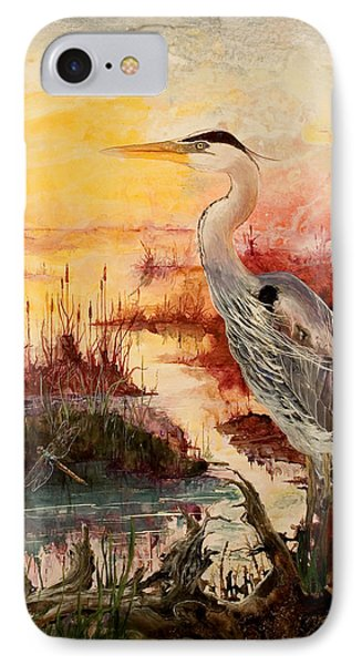 Morning Has Broken IPhone Case by Sherry Shipley