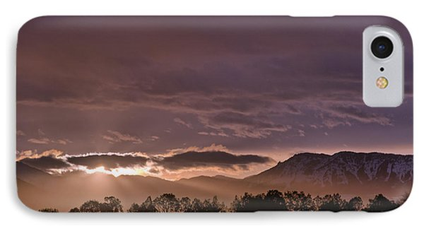 Morning Haze IPhone Case by Eric Rundle