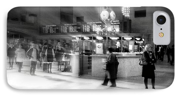 Morning In Grand Central IPhone Case by Miriam Danar