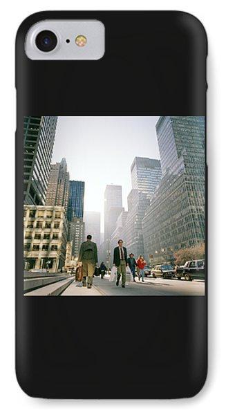 Morning In Manhattan Phone Case by Shaun Higson