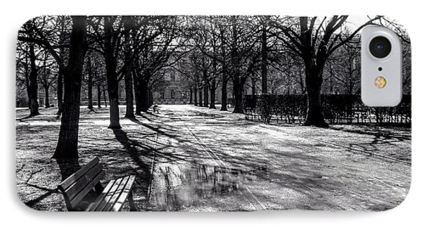 IPhone Case featuring the photograph Morning In The Hofgarten by Ross Henton