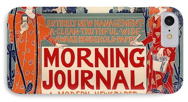 Morning Journal IPhone Case by Gianfranco Weiss