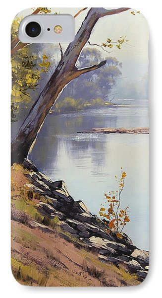 Morning Light Tumut River IPhone Case by Graham Gercken