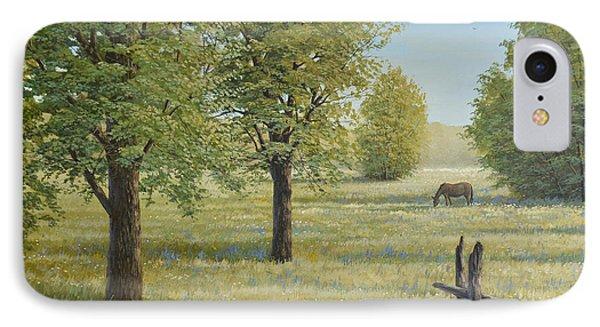 Morning Meadow Phone Case by Jake Vandenbrink