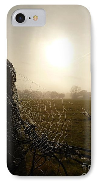 IPhone Case featuring the photograph Morning Mist by Vicki Spindler
