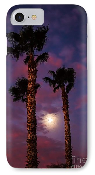 Morning Moon Phone Case by Robert Bales