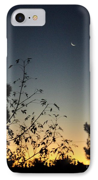 IPhone Case featuring the photograph Morning Moonshine by Carla Carson