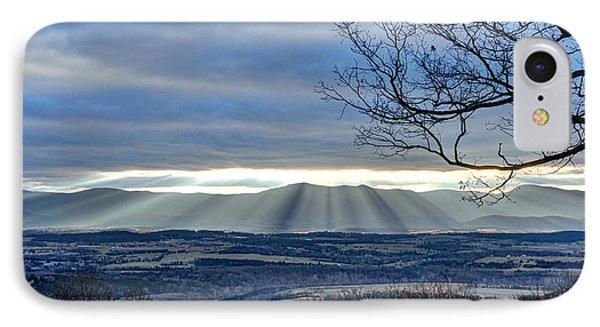 IPhone Case featuring the photograph Morning Mountain Splendor by Lara Ellis