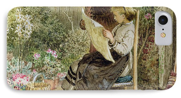 Morning News IPhone Case by Myles Birket Foster