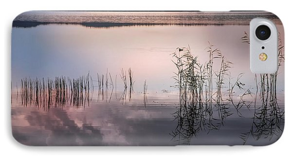 Morning Nocturne. Ladoga Lake. Northern Russia  Phone Case by Jenny Rainbow