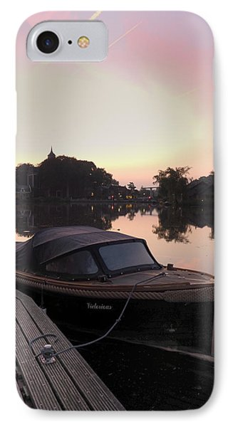 Morning On The Amstel Phone Case by Cristel Mol-Dellepoort