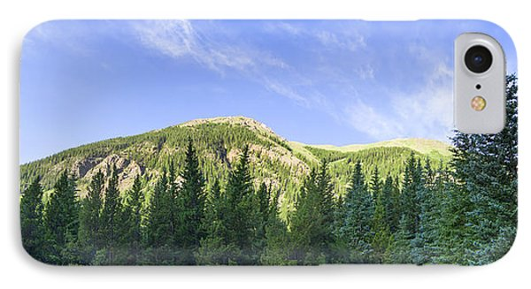 Morning On The Mountain IPhone Case by Mark Andrew Thomas