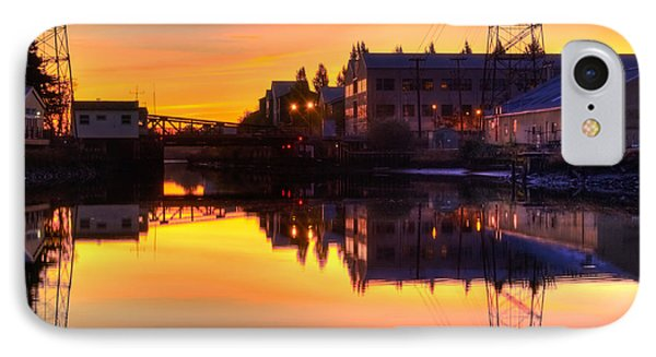 Morning On The River Phone Case by Bill Gallagher