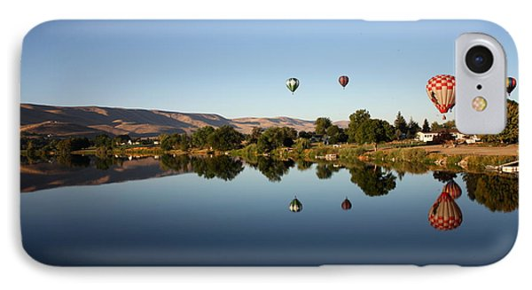 Morning On The Yakima River Phone Case by Carol Groenen