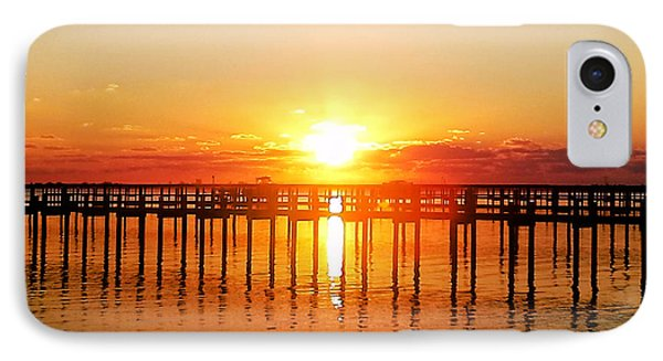 Morning Pier IPhone Case by Marty Gayler