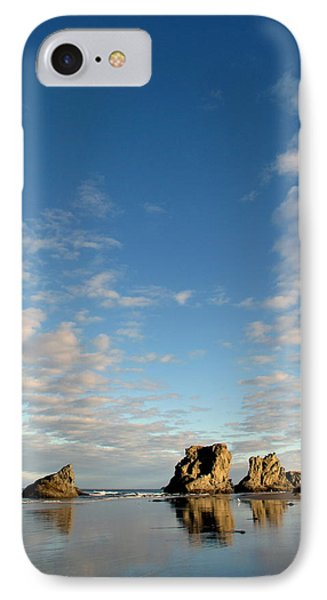IPhone Case featuring the photograph Morning Rocks by Suzy Piatt