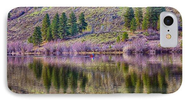 Morning Rowing Phone Case by Omaste Witkowski