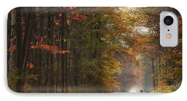 Morning Run IPhone Case by Michele Steffey