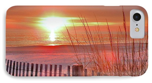 Morning Sandfire Phone Case by Kim Bemis
