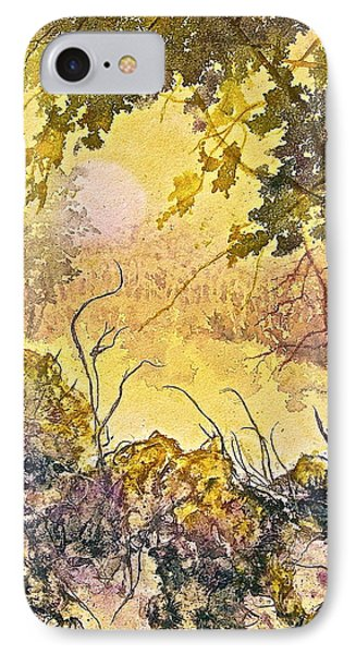 IPhone Case featuring the painting Morning Serenity by Carolyn Rosenberger