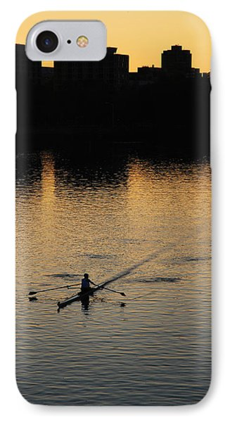 Morning Solitude IPhone Case by James Kirkikis