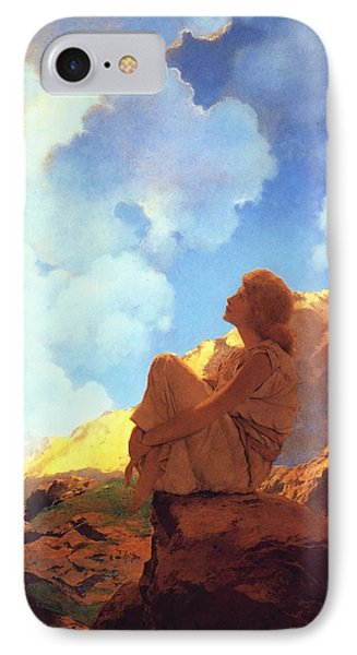 Morning Spring IPhone Case by Maxfield Parrish