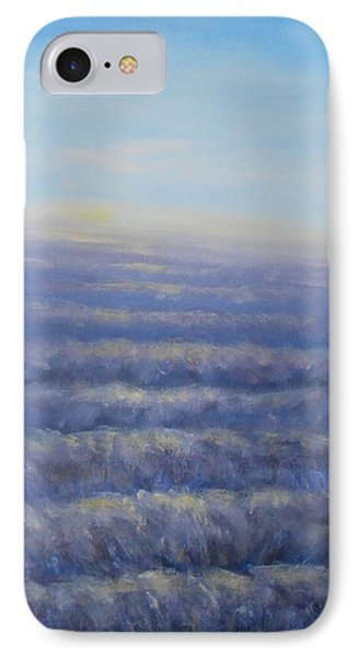 IPhone Case featuring the painting Morning Sun by Jane  See