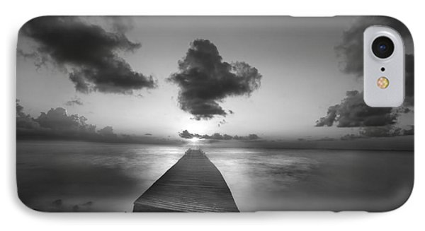 Morning Sunrise By The Dock Phone Case by Dan Friend