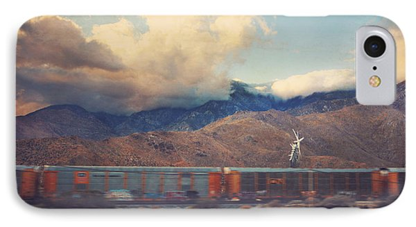 Morning Train IPhone Case by Laurie Search