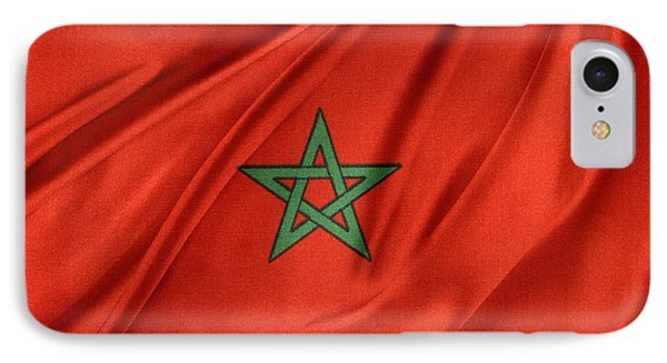 Moroccan Flag IPhone Case by Les Cunliffe