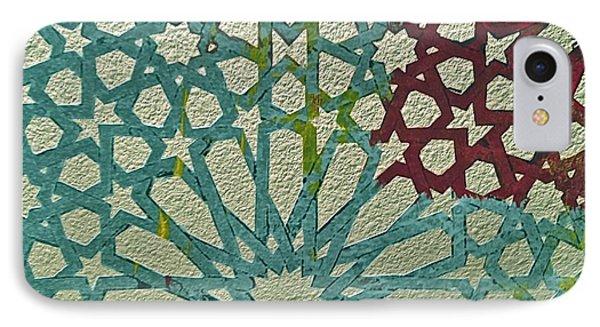 Moroccan Tile Design Phone Case by Karim Baziou