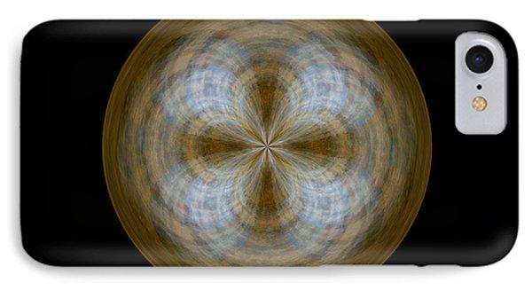 Morphed Art Globe 24 Phone Case by Rhonda Barrett