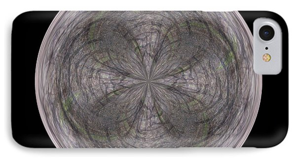 Morphed Art Globe 26 Phone Case by Rhonda Barrett