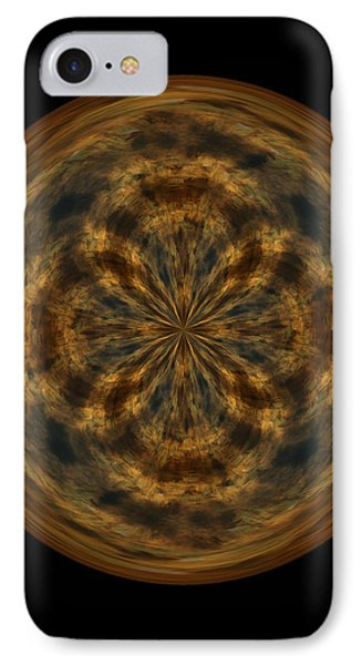 Morphed Art Globe 29 Phone Case by Rhonda Barrett