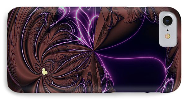 Morphed Art Globe 39 Phone Case by Rhonda Barrett