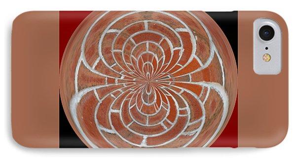 Morphed Art Globes 17 Phone Case by Rhonda Barrett
