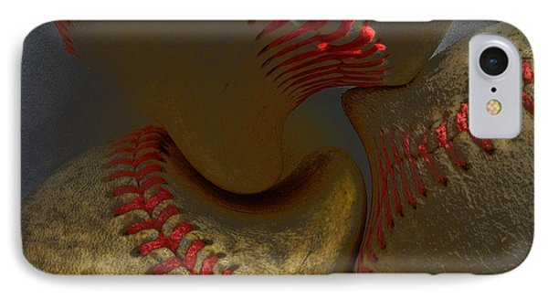 Morphing Baseballs Phone Case by Bill Owen