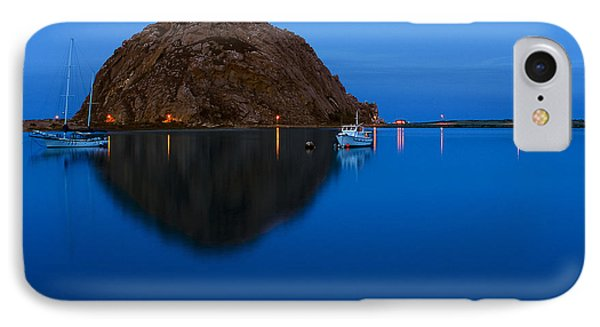 Morro Bay Calm Morning IPhone Case by Terry Garvin