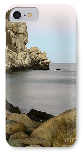 Morro Bay Morning 2 IPhone Case by Terry Garvin